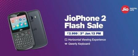 JioPhone2 Flash Sale