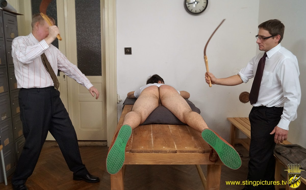 Boy Started To Be Spanked
