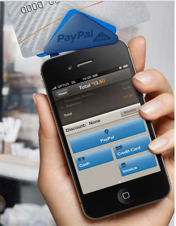 Paypal Here Reader For Iphone
