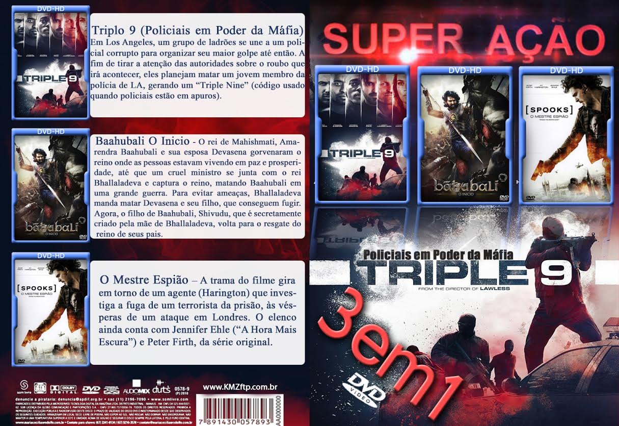 Super Ação 3x1 DVD-R 7cb8f672 b3b7 461d 9f5f 2b0c4947cb1b