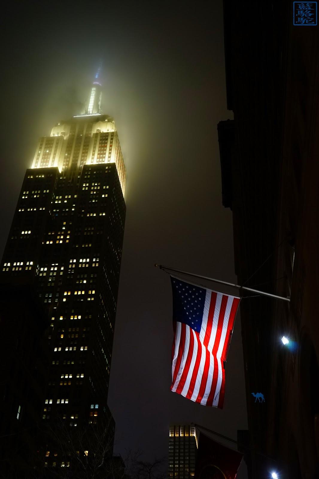 Le Chameau Bleu - L'empire State Building la nuit