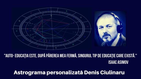 Interpretare astrograma personalizata