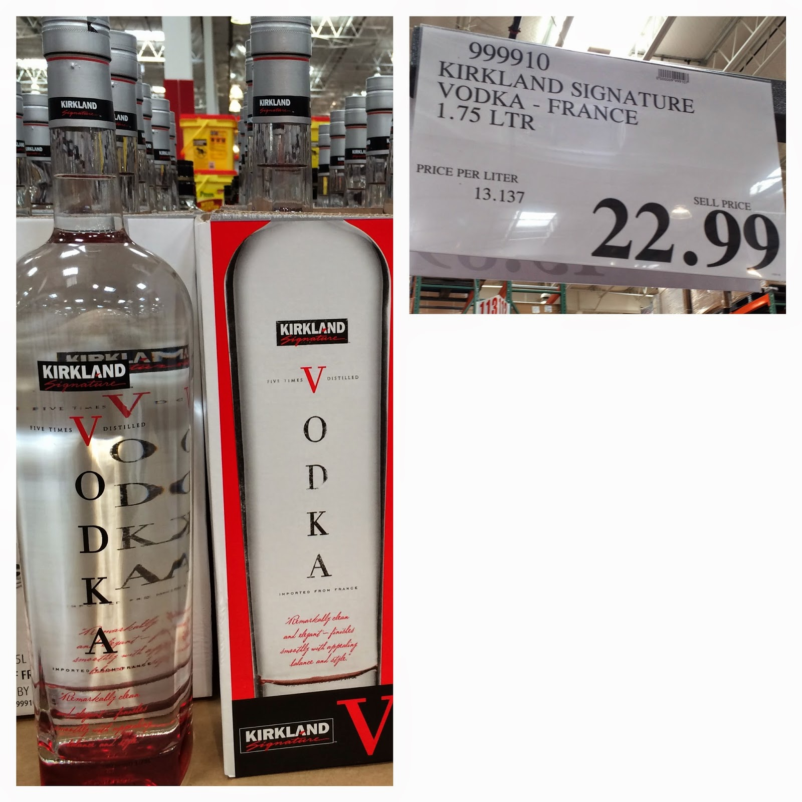 . the Costco Connoisseur  Buy your booze at Costco and save