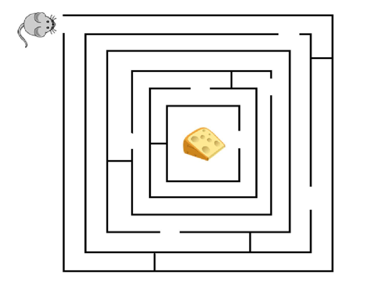 10 darmowych labiryntów dla dzieci do pobrania - Maluch w domu