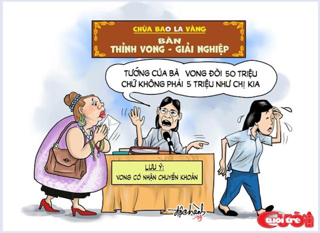 """CÒN BAO NHIÊU CHÙA """"BA VÀNG"""" NỮA?"""