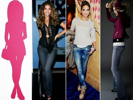 cara memilih jeans terbaik tipe tubuh buah pir