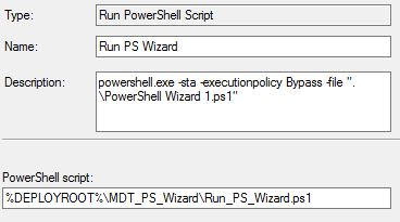 MDT PS Wizard: All MDT wizards in one - Syst & Deploy