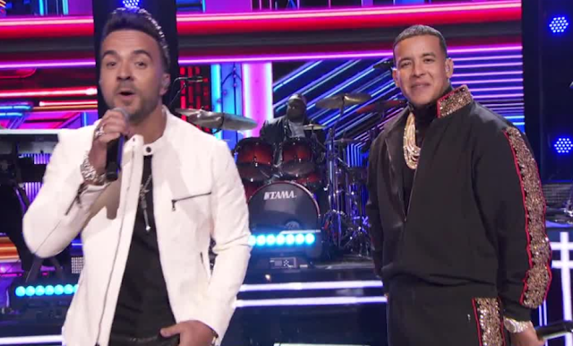 Watch: Luis Fonsi and Daddy Yankee perform 'Despacito' at Grammy Awards