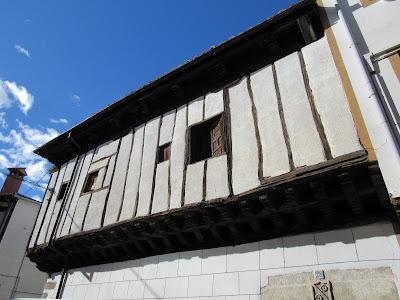 Casa entramada de madera en Candeleda