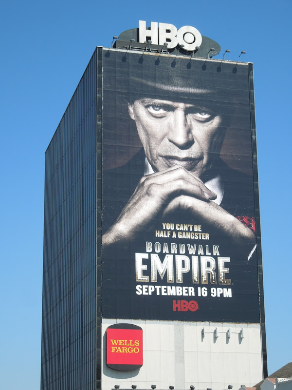 Giant Boardwalk Empire season 3 billboard