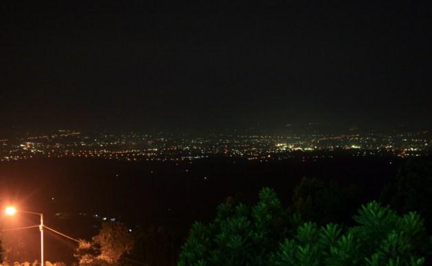 Rembangan Jember malam hari