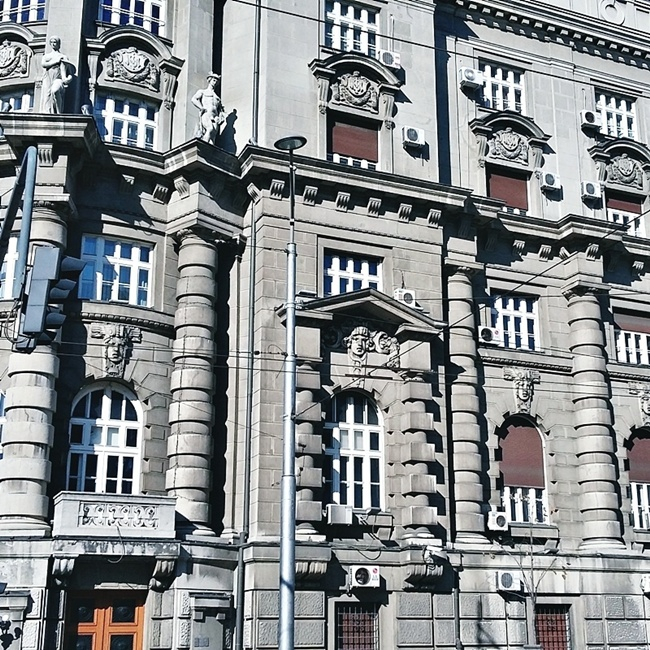Beograd arhitektura zgrada u centru grada