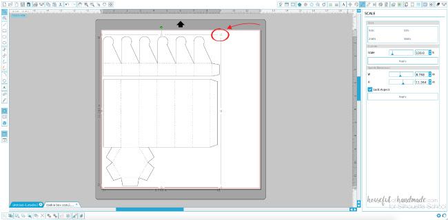 resize silhouette studio design, silhouette studio tutorials, silhouette cameo tutorials, silhouette cameo paper projects