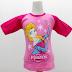 Frozen Elsa 4 - Kaos Raglan Anak Karakter Frozen Elsa 4 Pink (KAK-FRO-04)