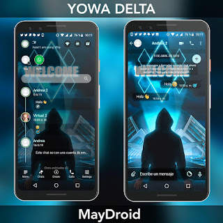 Welcome Theme For YOWhatsApp & Fouad WhatsApp By MayDroid