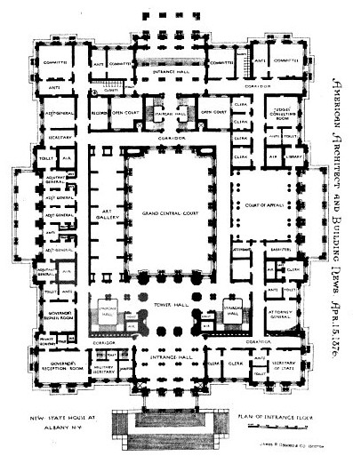 StevenWarRan New York State Capitol Floor Plans