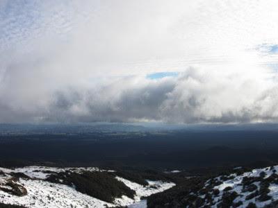 Estación de esquí Turoa. Parque Nacional Tongariro, Nueva Zelanda