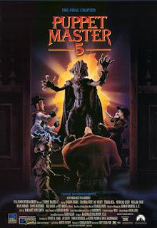 affiche de PUPPET MASTER 5, film fantastique réalisé par Jeff Burr