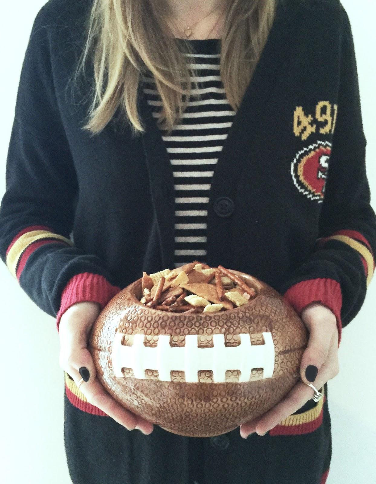 Super Bowl Party Chex Mix