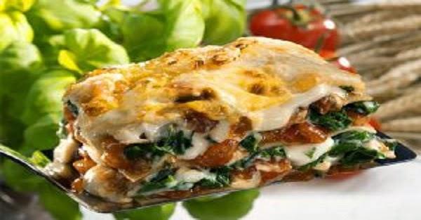 Lasanha Vegetariana (Imagem: Reprodução/Internet)