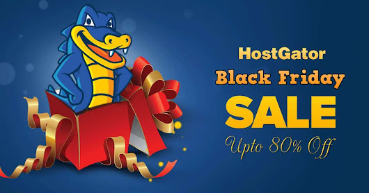 Hostgator Black Friday Sale Deals {Upto 80% off} + $1000 Worth Bonus free