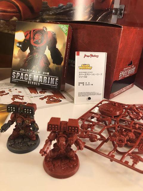 Colección Space Marine Heroes 2