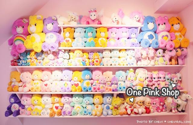 %25EF%25BC%2591 - 台中西屯│王皮香One Pink Shop。超萌少女心準備爆棚啦!整面滿滿滿的可愛娃娃與夢幻飲品根本超好拍!