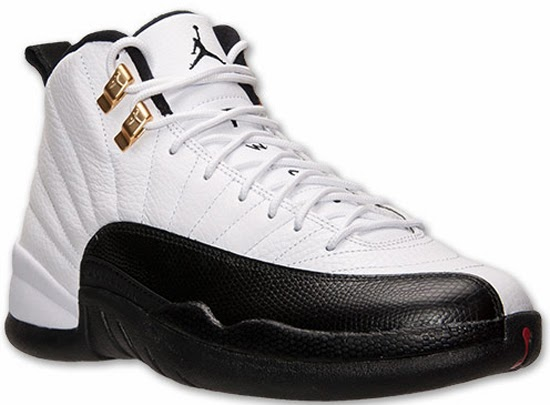 sale retailer d626d 1e04e Air Jordan 12 Retro White Black-Taxi-Varsity Red Release Reminder