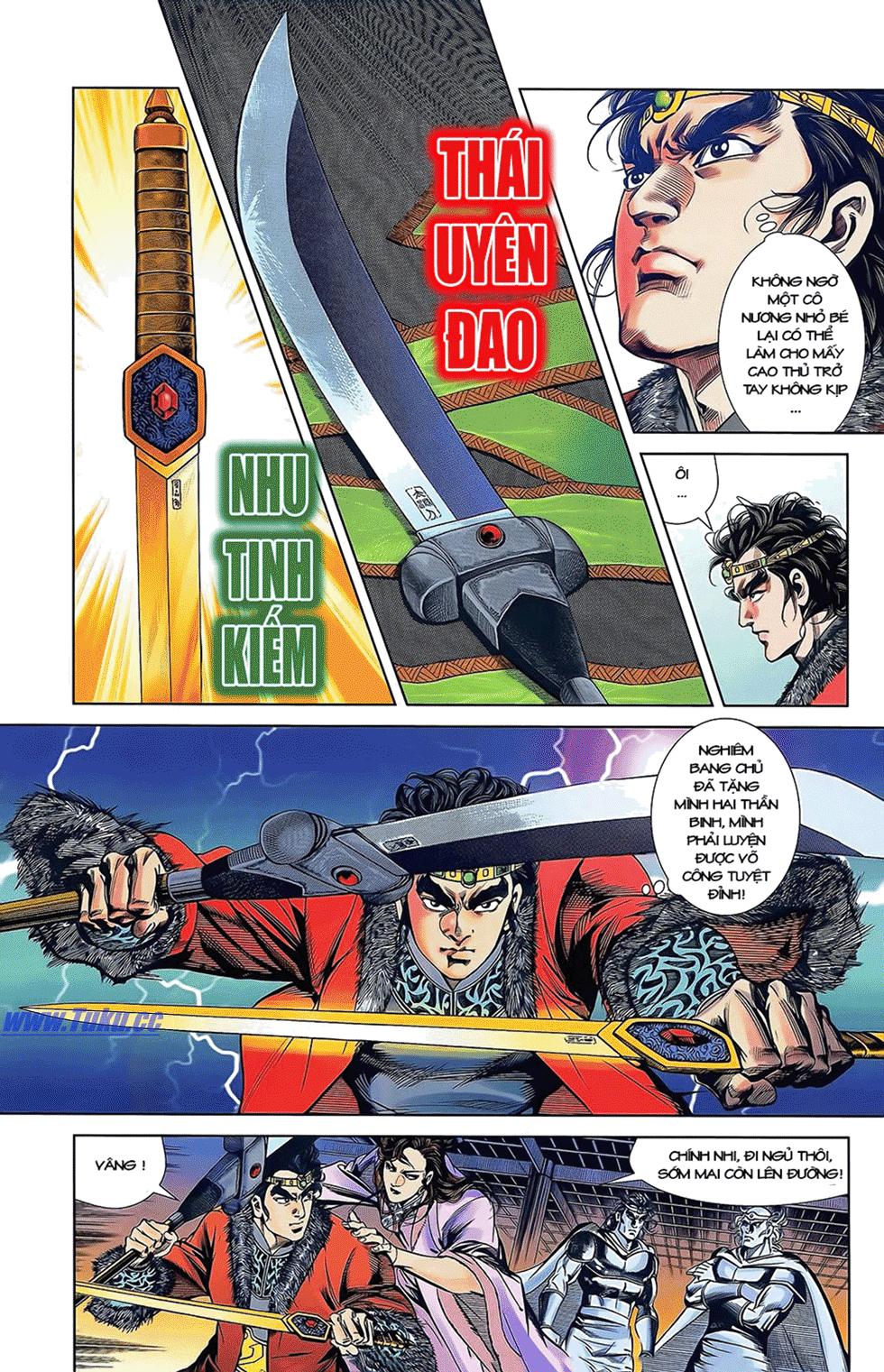 Tần Vương Doanh Chính chapter 12 trang 24