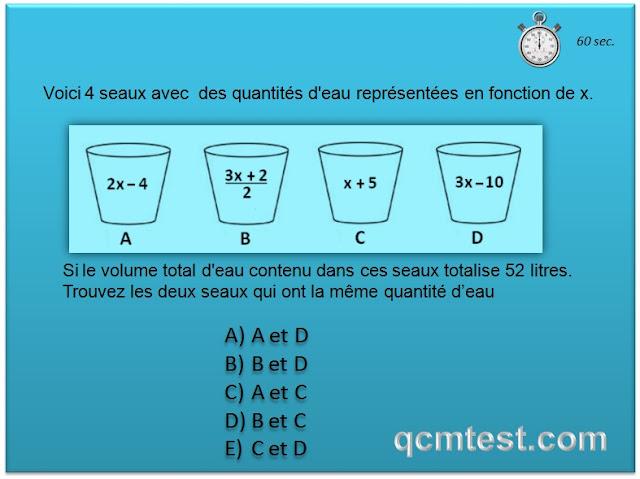 qcm-concours-gratuits  test psychotechnique  u0026 test de logique - pr u00e9paration aux tests