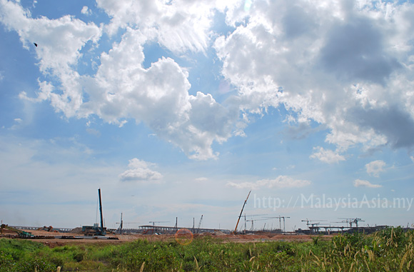 Photo of KLIA2 Construction