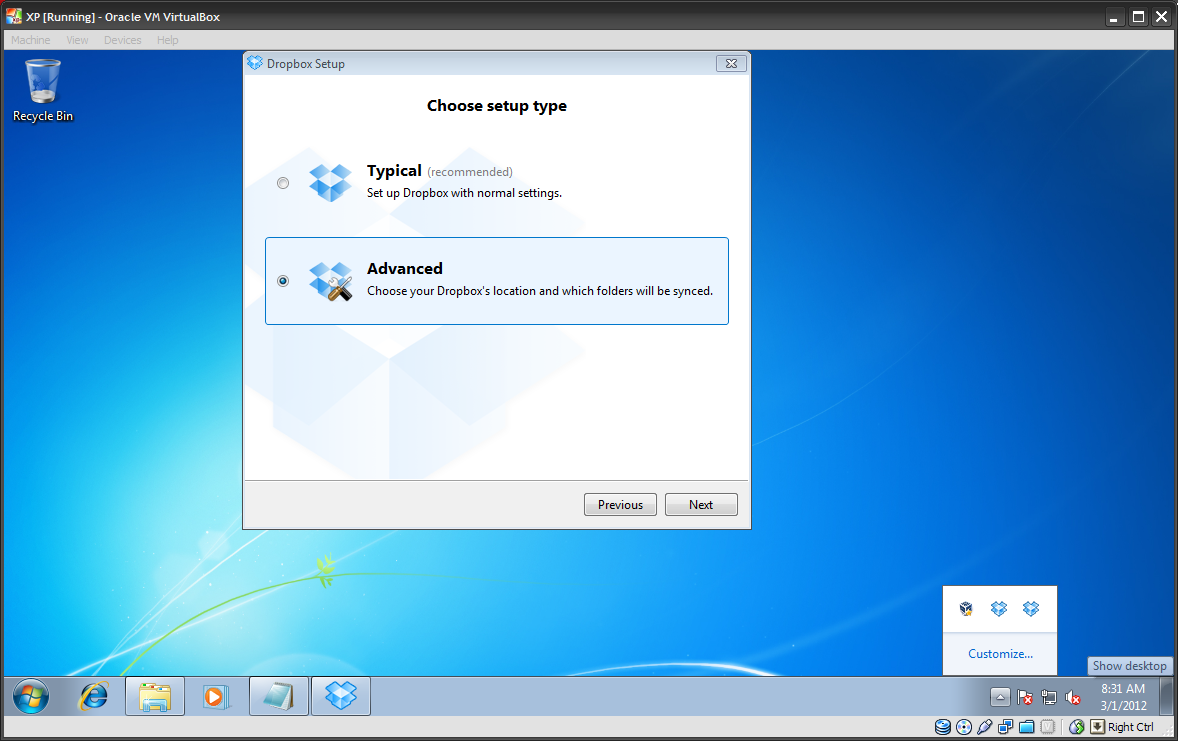 Open Source Software and Windows 32-bit: Multiple Dropbox