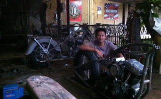 Bengkel Kustom Motor Bless-Tech78 Garage