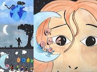 3- La petite demoiselle de la lune
