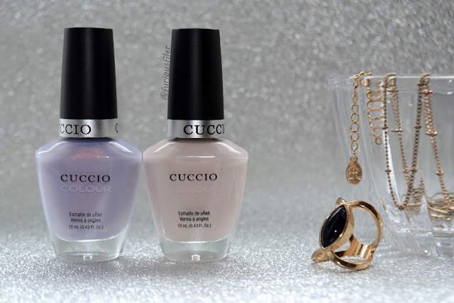 cuccio nail polish review jewellery ring metallic nude furious filer