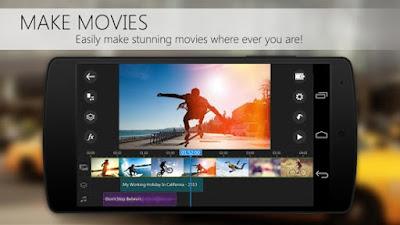 download aplikasi edit video Power Director Video Editor Android App apk