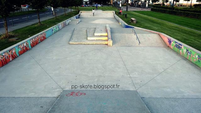 Skate park Aulnoy lez Valenciennes