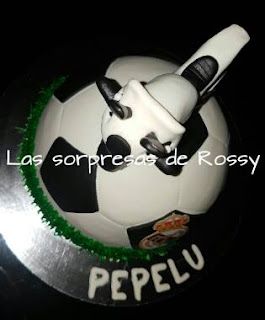 tarta-fondant-balon-real-madrid