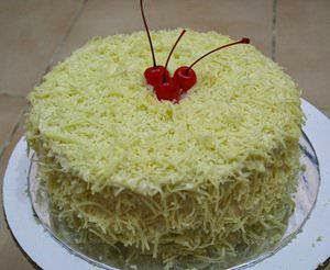Resep Cake/Kue Lapis Keju Lembut Enak dan Lembut