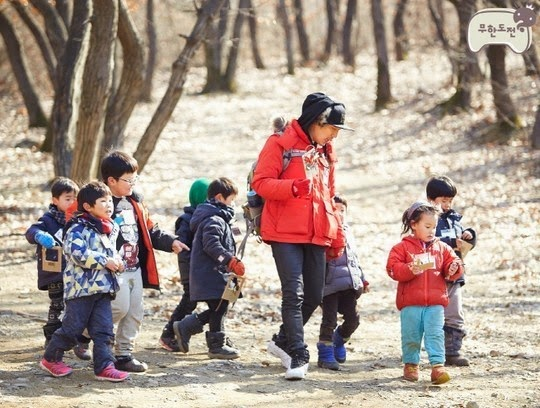 infinite challenge kindergarten teacher Haha
