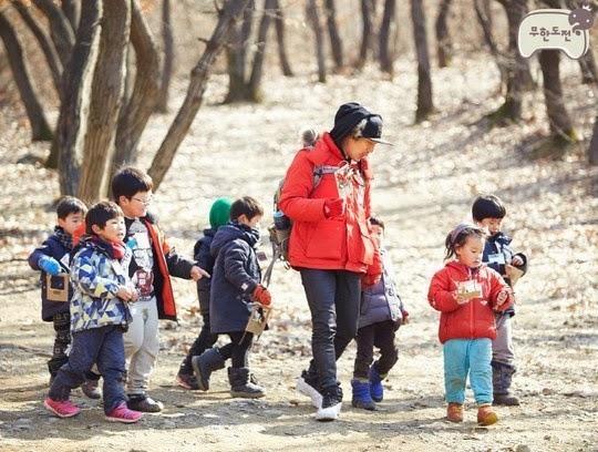 infinite challenge kindergarten teacher Haha