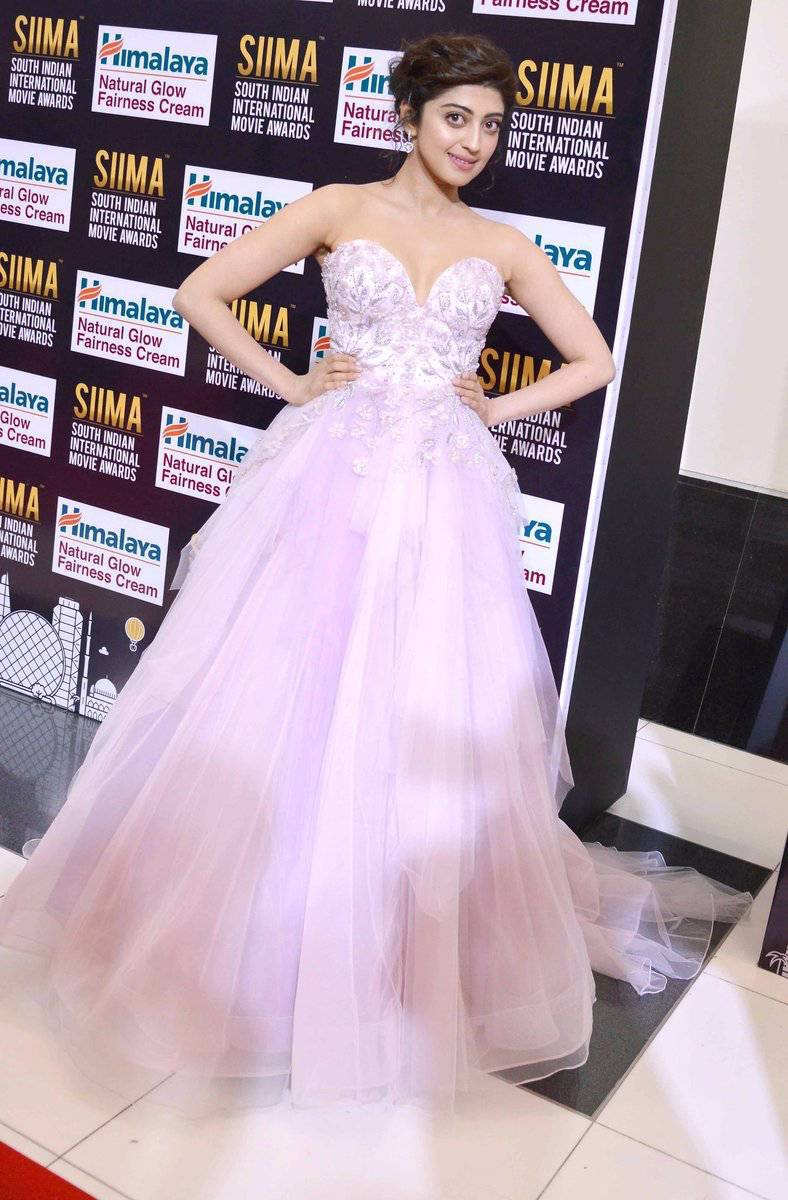 Actress Pranitha Subhash Photos At SIIMA Awards 2017