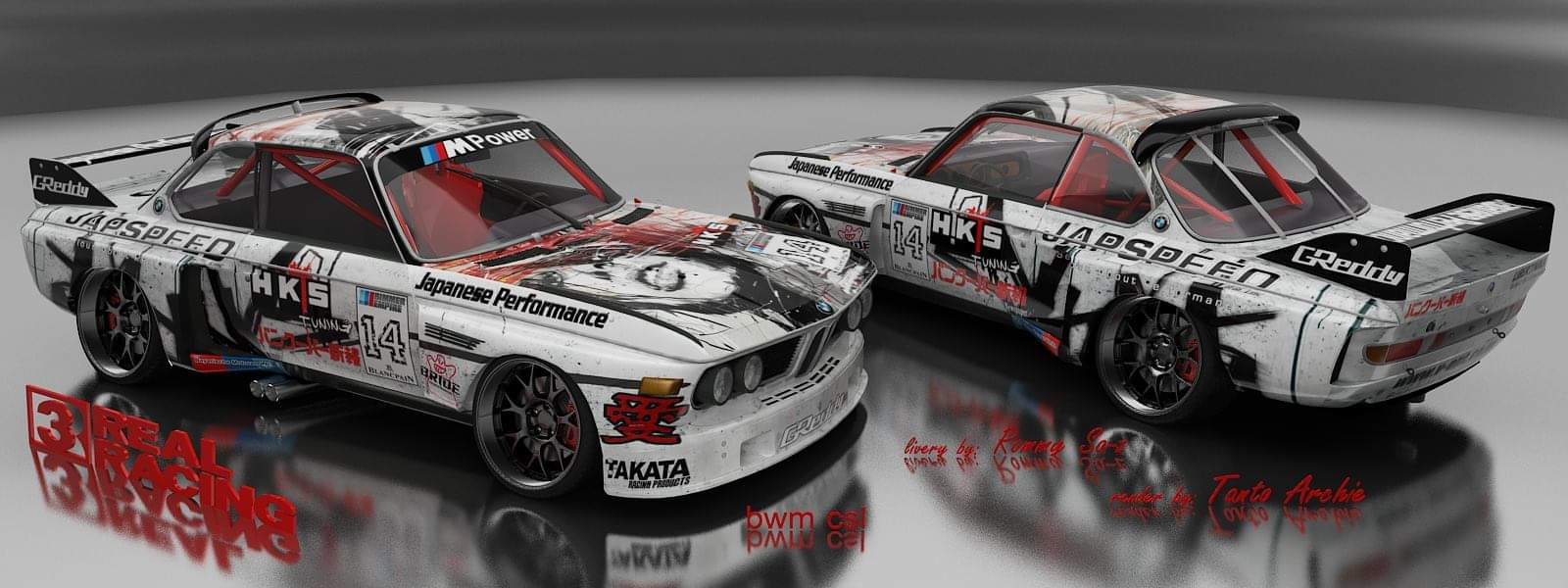 Bmw classic csl jap speed
