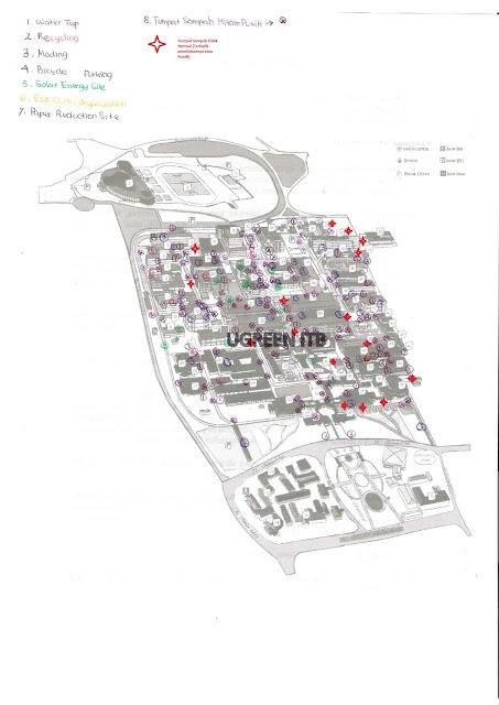 bagi-bagi: Peta Hijau ITB :D