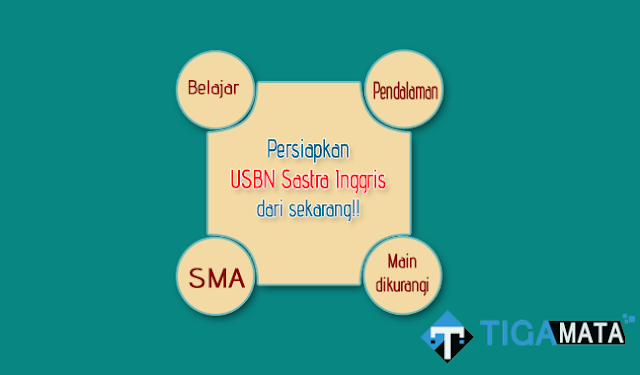 Prediksi Soal USBN Sastra Inggris SMA Tahun 2019 (SMA BAHASA)