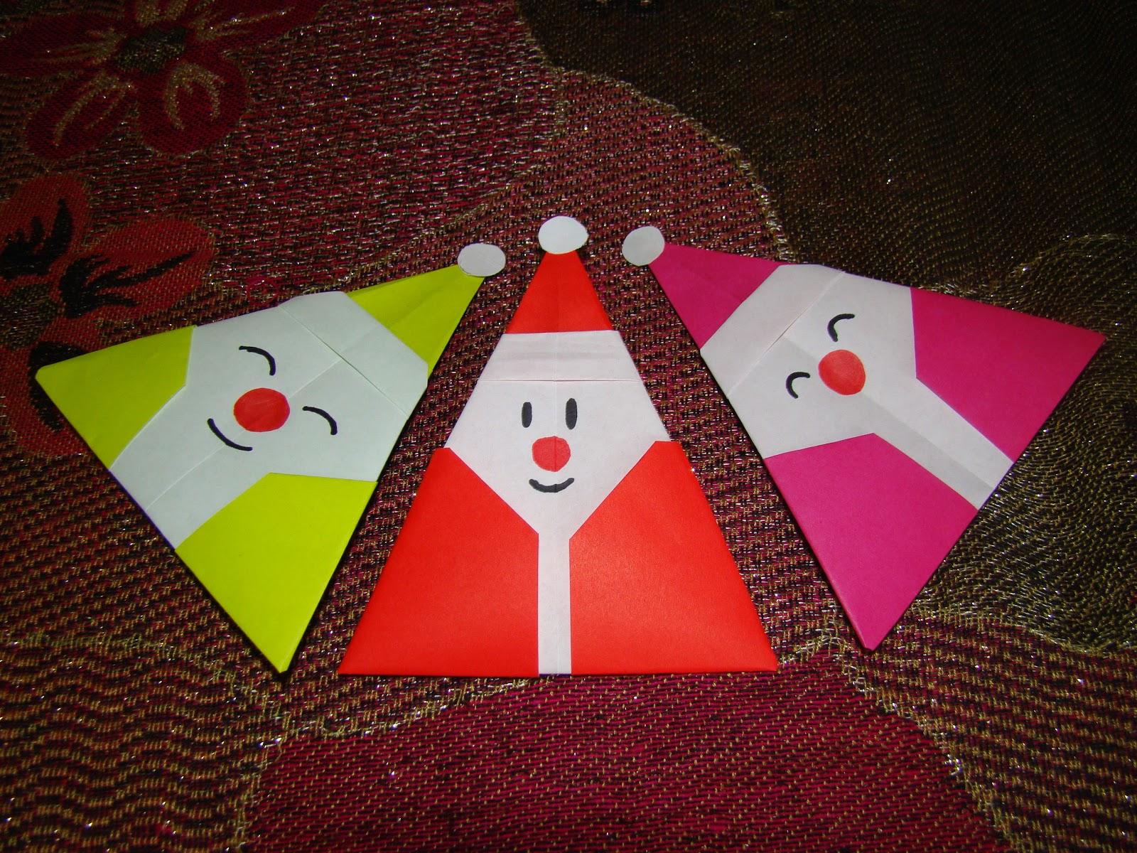 Christmas Origami Diagram Worcester Boiler Wiring Diagrams Maniacs Santa Claus 1