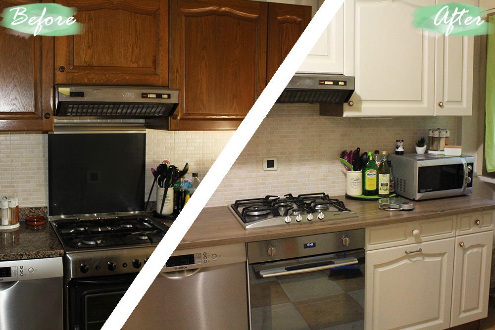 Restyling Home - Riciclo creativo della vecchia cucina - Prima&Dopo ...
