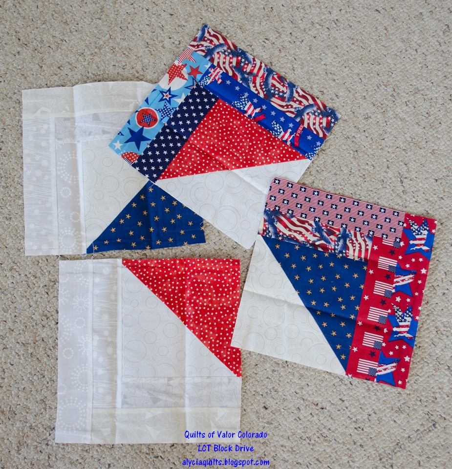 Alycia Quilts Quilts Of Valor Block Drive
