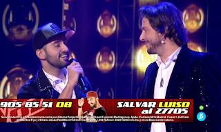Equipo Manuel canta Uno X Uno. Semifinal La Voz 2016