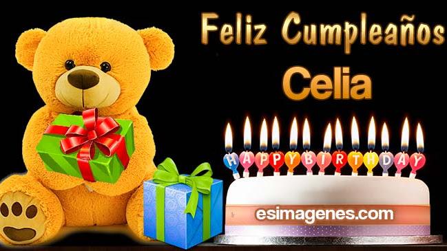 Feliz Cumpleaños Celia